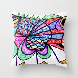 Bootiful Boid Throw Pillow