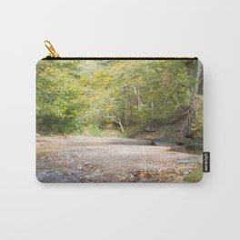 Rocky Riverbed in the Summer Carry-All Pouch