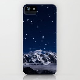 At the roof of the world iPhone Case