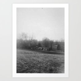 From The Hill Art Print