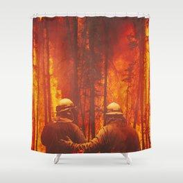 Firefighters Hero Shower Curtain