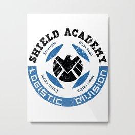 S.H.I.E.L.D. Academy Metal Print