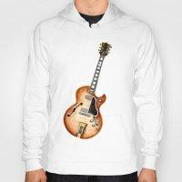 guitar Hoodies featuring Guitar by Bridget Davidson