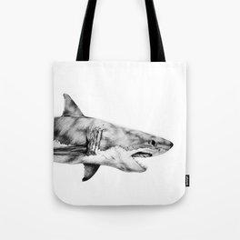 Great White Shark Tote Bag