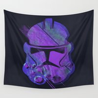 sith Wall Tapestries featuring Splash Trooper by Sitchko Igor