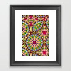 Mille Fleur Framed Art Print