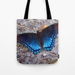Blue Wingspan Tote Bag