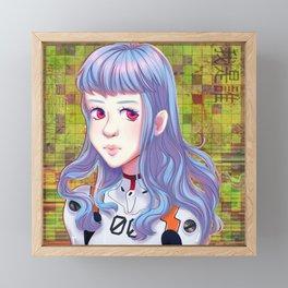 rei ayanami_02 Framed Mini Art Print