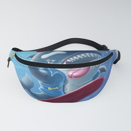 Whaleboarding Fanny Pack