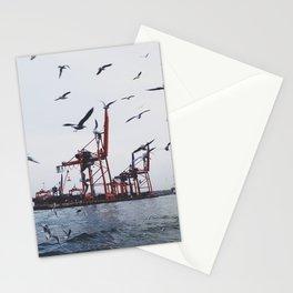 PORT OF HAYDARPASA Stationery Cards