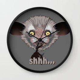 Aye-Aye Lemur Wall Clock
