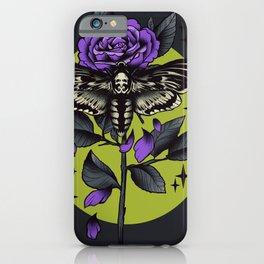 Death Hawk Moth iPhone Case