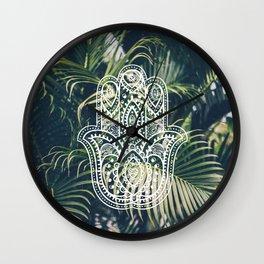 PALM x2 – HAMSA Wall Clock