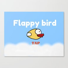 Flappy Bird Canvas Print