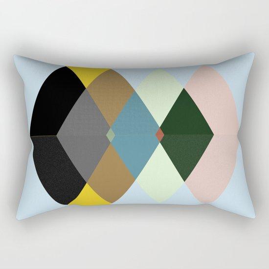 Abstract #709 Rectangular Pillow