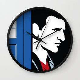 The 9th Doctor Wall Clock