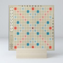 Scrabble Mini Art Print