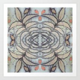 Under the Pecan Tree Art Print