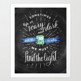 The Wisdom of BMO Art Print