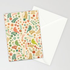Vector Floral Pattern Stationery Cards