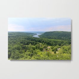 View from the top of Bowman's Tower Metal Print