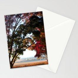 Australian Autumn Landscape Stationery Cards