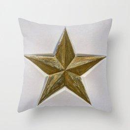 Soviet Star World War 2 Throw Pillow