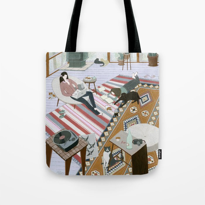 Sisters Room Tote Bag