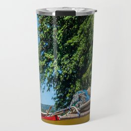 Traditional Filipino Kayak Travel Mug
