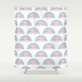 kawaii breeze summer watermelon fruit punch Shower Curtain