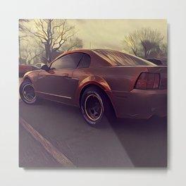 Mustang 2001 Metal Print