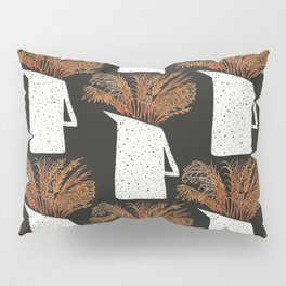 Autumn Still Life with Pampas Grass Pillow Sham