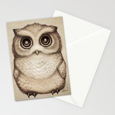The Little Owl Stationery Cards