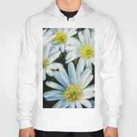 daisies Hoodies featuring daisies by Barbro Paulsson