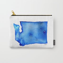 Washington State Starry Night Carry-All Pouch