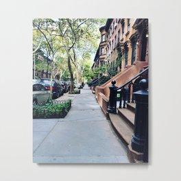 Walk Down Memory Lane Metal Print