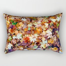 In the sea of leaves Rectangular Pillow