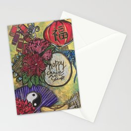 Happy Chinese New Year Stationery Cards