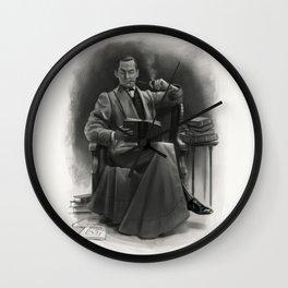 The Omnivorous Reader Wall Clock