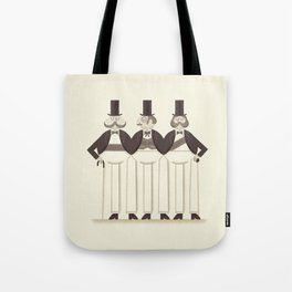 The Leage Of Extra(leg)ordinary Gentlemen Tote Bag