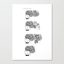 Big Hair Sequence Canvas Print