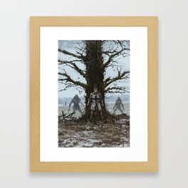 Brother Zygfryd and the Last Crusade Framed Art Print