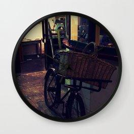 Bakers Bike Wall Clock