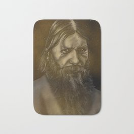 Rasputin the Russian Mystic Bath Mat