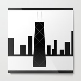 Chicago 3V Metal Print