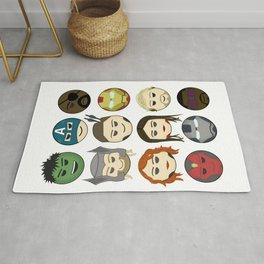 Avenger Emojis :) Rug