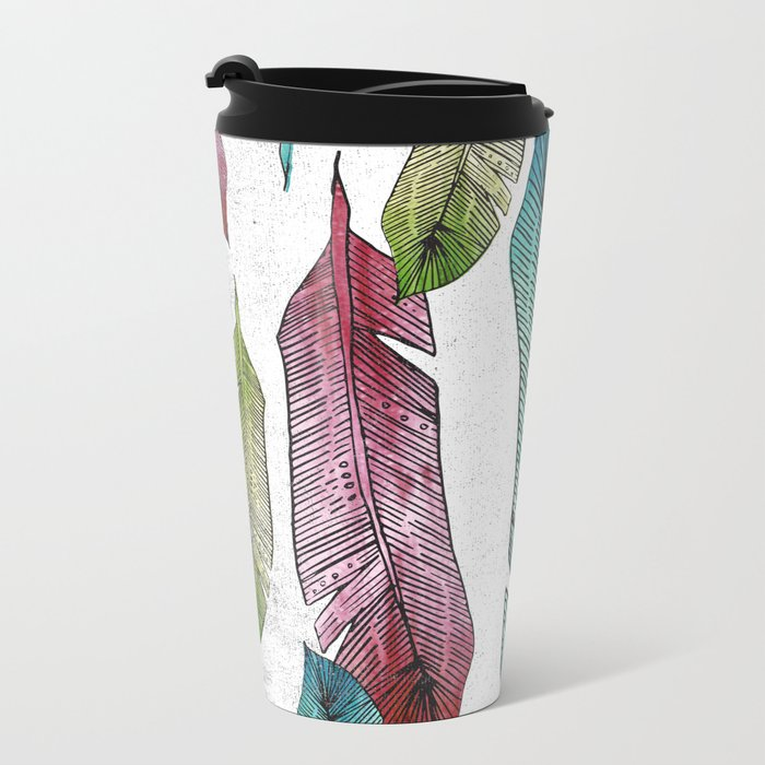 BIRDS OF A FEATHER Metal Travel Mug