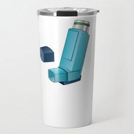 Funny Inhaler Asthma Nurse  product Travel Mug