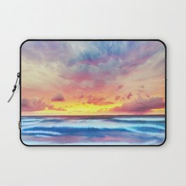 Lonas planet stormy evening Laptop Sleeve