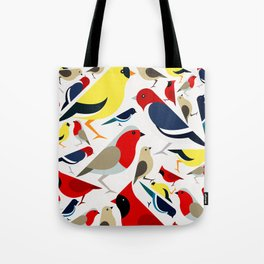 The birds from the colorful world Tote Bag